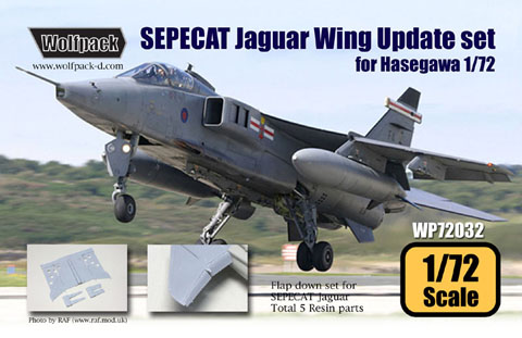 Jaguar Wing Update set for Hasegawa  WP72032