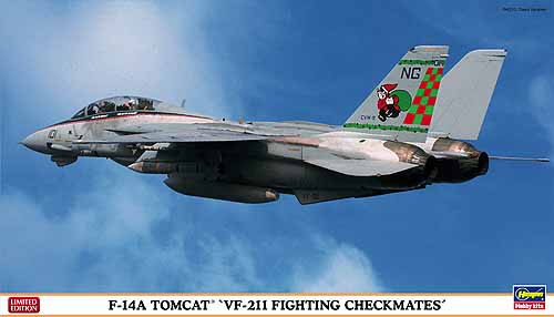 F14A Tomcat '' VF211 Fighting Checkmates''  2402022