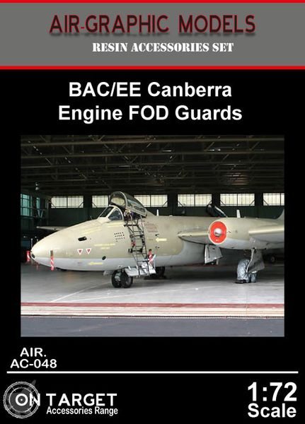 Canberra  Intake FOD Guards (Airfix)  AIR.AC-146