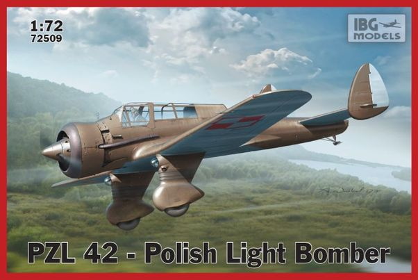 PZL42 - Polish Light Bomber  72509