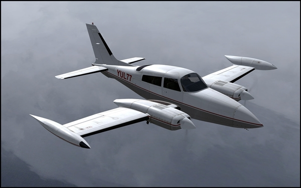 Cessna C310R (Download Version) (Military Visualization 148701-D)