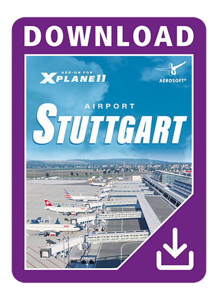 Airport Stuttgart XP (Download Version)  14186-D