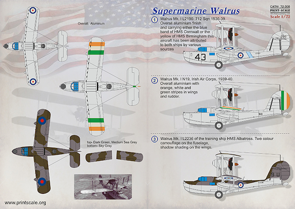 supermarine walrus part 1 faa irish ac rh aviationmegastore com What Are Diagrams Airplane Wing Diagram