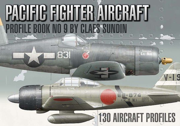 Pacific Fighter Profile Book number 9  SUNDIN-9