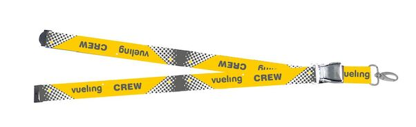 Lanyard with Vueling Crew titles as 'mini-airlinebelt'  LAN-VUE