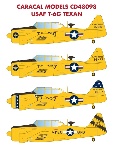 USAF T6G Texan  CD48098