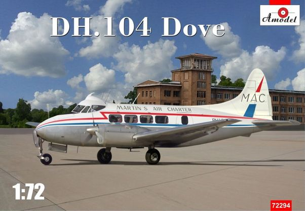 DH-104 Dove (Martinair) (EXPECTED SEPTEMBER)  72294