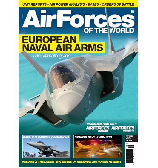 AirForces of the World - European Naval Air Arms  978191220552318
