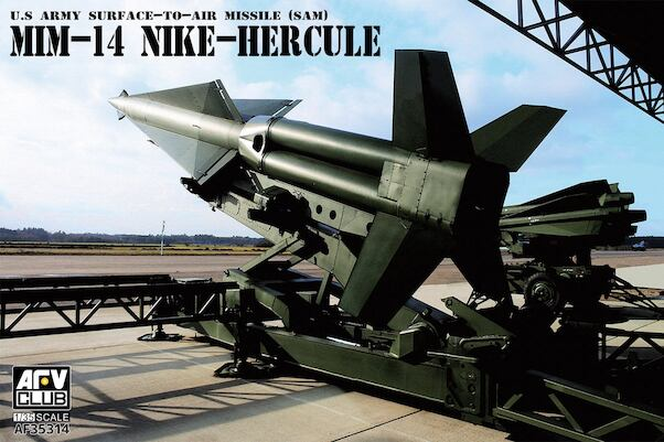 US Army Surface to Air Missile  MIN-14 Nike Hercules  af35314