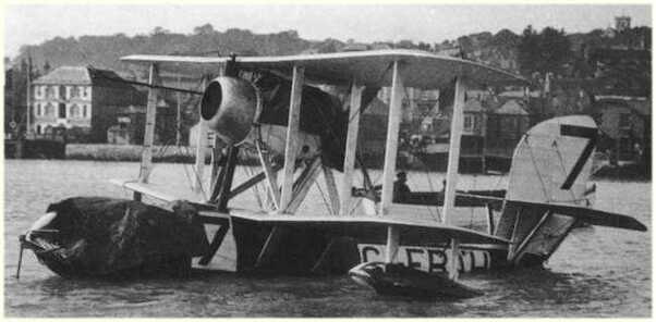 Supermarine Sea Lion III Schneider trophy racer 1923  KY72012