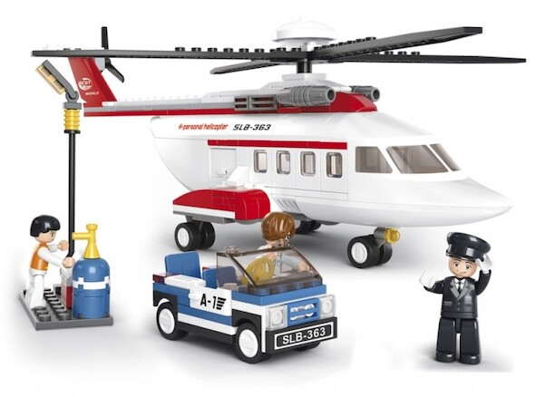 Sluban Toy Private Helicopter 259 piece  M38-B0363