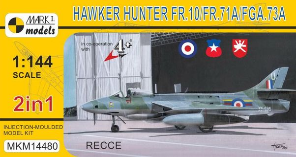 Hawker Hunter FR.10/71A/FGA.73A 'Recce' (2 kits included)  MKM14480