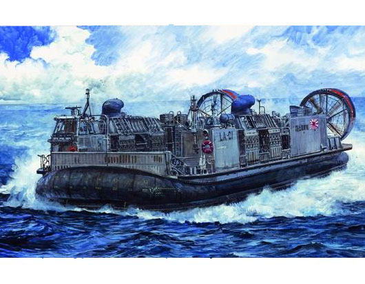 JMSDF LCAC (Landing Craft Air Cushion) Hovercraft  00106