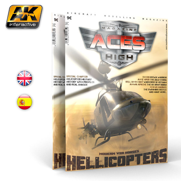 Aces High Magazine No 8: Helicopters, Modern War Horses  8436564921659
