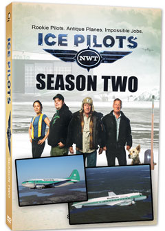 Ice Pilots Season Two - Three DVD set (Buffalo Airways: Rooky Pilots, Antique Planes, Impossible Jobs)   ICE-2