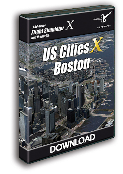 US Cities X - Boston (download version)  13612-D
