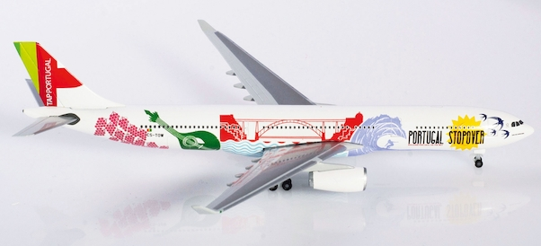 """CS-TOW Herpa Wings 530934  TAP Portugal Airbus A330-300 /""""Portugal Stopover/"""""""