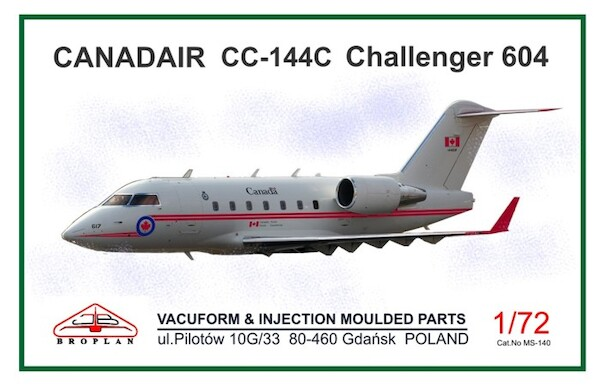 Canadair CC144C Challenger 604 (Royal Canadian Air Force)  MS-140