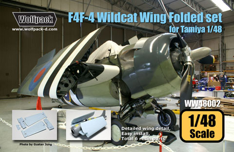 F4F Wildcat Folding Wing Set (Tamiya)  WW48002