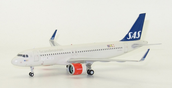 A320neo (SAS Scandinavian Airlines) LN-RGL With Stand  XX2171