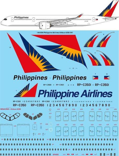 Airbus A350-900 (Philippine Airlines)  144-894