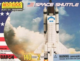 Construction Block Toy (Space Shuttle) 140 piece  BL5740