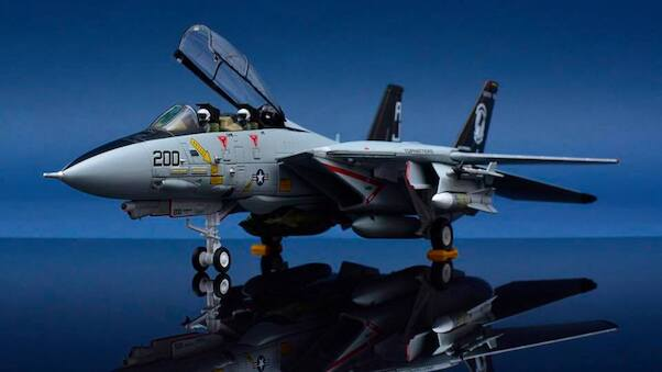 F14A Tomcat US Navy VF-14 Tophatters  CBW721403