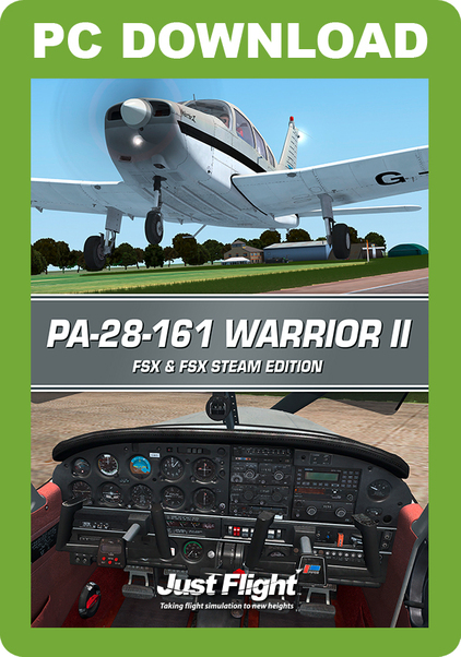 Piper PA-28-161 Warrior II (download version FSX)  J3F000225-D