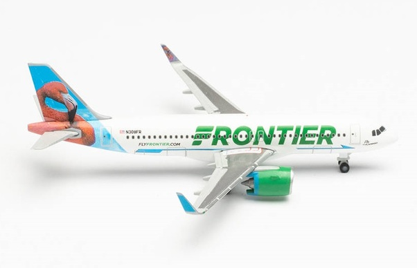 Airbus A320neo Frontier Airlines N308FR Flo the Flamingo  534697