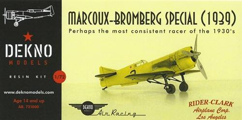 Marcoux-Bromber Special Air racer (1939)  AR.721000