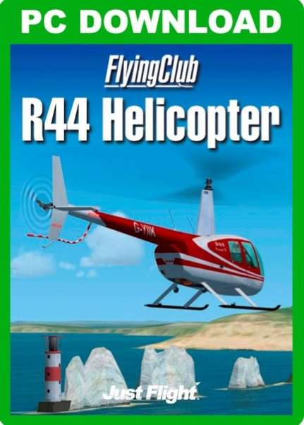 Flying Club Robinson R44 Helicopter (Download version) (Just Flight  J3F000055-D)