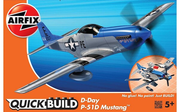 Quickbuild D-Day P51D Mustang  J6046