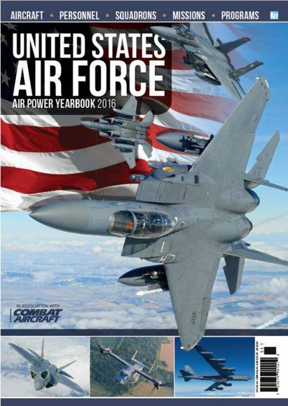 US Air Force Air Power Yearbook 2016  978191041541215
