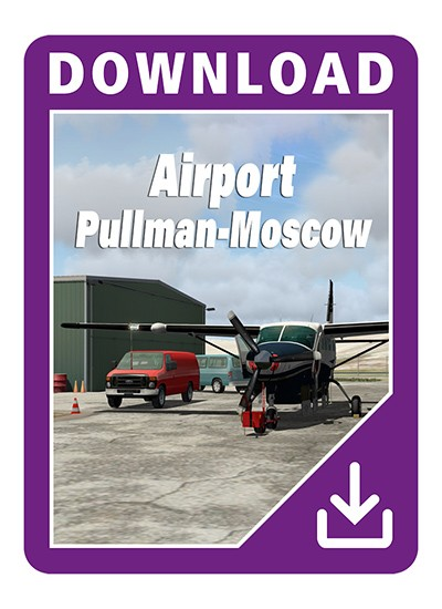 Airport Pullman-Moscow XP (Download Version for Xplane10)  13783-D