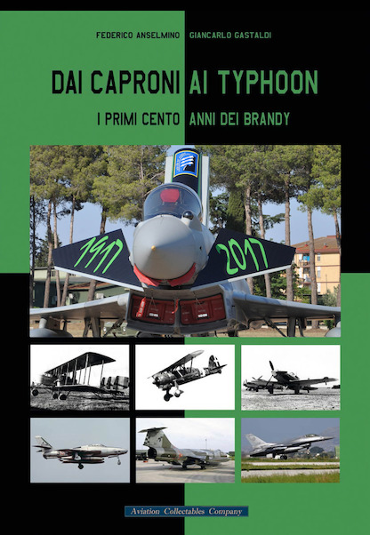 Dai Caproni Ai Typhoon, I Primo cento anni dei brandy (From Caproni to Typhoon, the first one hundred years of the 18th Gruppo  9788894105070