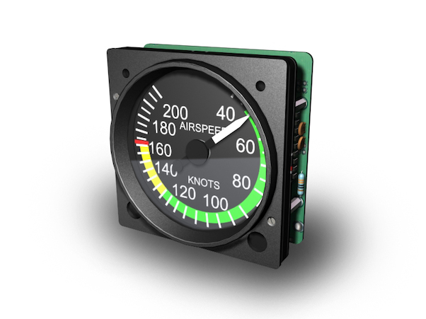 Cessna Indicated Airspeed  200 kts (GSA-055 usb interfase required)  GSA-039