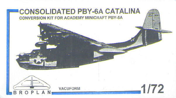 Consolidated PBY6A Catalina (Voor Academy kit)  MS-60