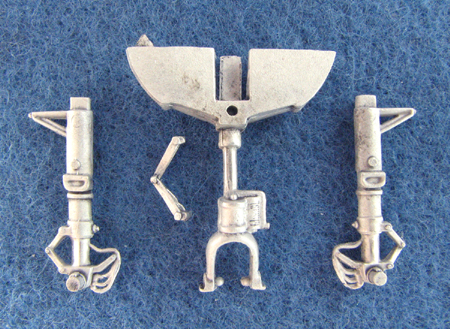 Grumman F9F Panther Landing Gear  (replacement for 1/48 Revell/Monogram)  sac48111