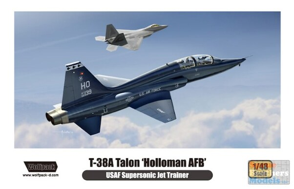 Northrop T38A Talon - Holloman AFB USAF -  WP10004