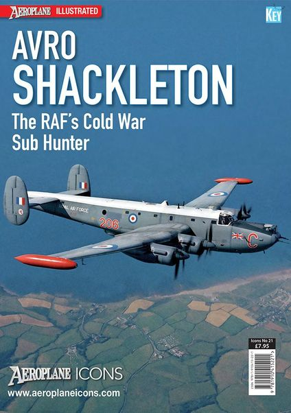 Aeroplane Icons Avro Shackleton  9781910415221