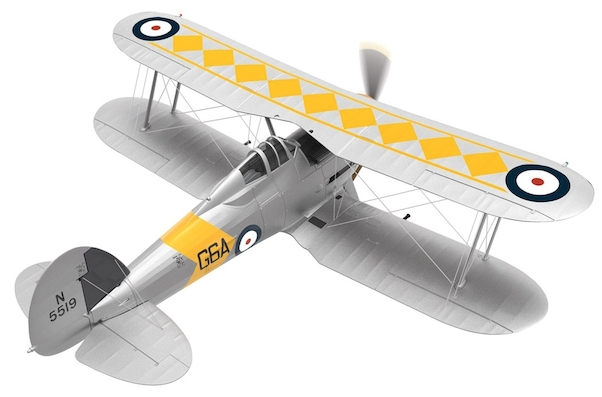 Gloster Sea Gladiator N5519/G6A, No,802 NAS, HMS Glorious, 1939  AA36211