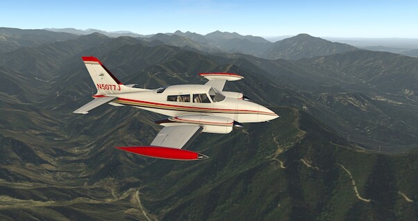 Cessna T310R  (Download Version for X-plane)  190201-D
