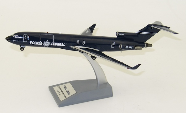 B727-200 (Policia Federal Preventiva, PFP) XC-MPF With Stand  IF722MEXP0619