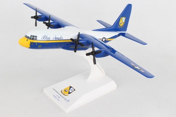 C130 Lockheed Hercules US Navy Blue Angels  SKR725