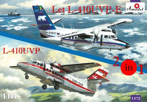 Let 410UVP and Let 410UVP-E Turbolet (2 kits included)  amdl1472