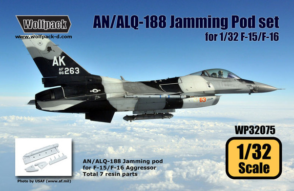 AN/ALQ-188 Jamming Pod with Chin pod for F15/F16 Aggressor  WP32075