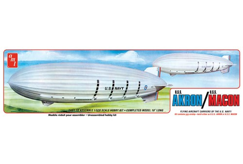 USS Akron /USS Macon, flying aircraft carriers of the US Navy  AMT892/12