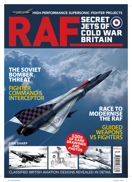 RAF: Secret Jets of Cold War Britain  9781911276364
