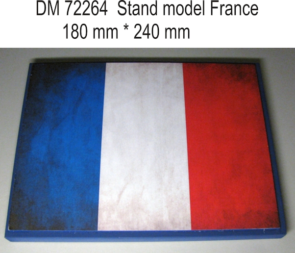 Stand model France  (or Dutch if you turn it)  180mm x 240mm  DM72264