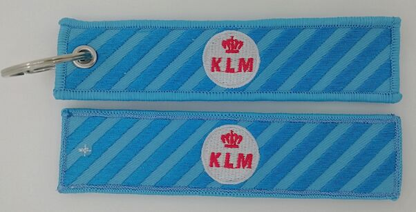 Keyholder with KLM Retro on both sides  KLM Retro